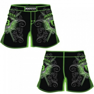 Booster MMA short Pro 15 Shield green