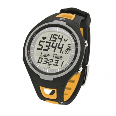 Sigma PC 15.11 heart rate monitor yellow
