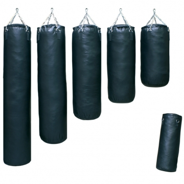 Sportief boxing bag black classic 70-180 cm