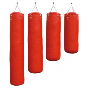 Sportief boxing bag red luxury 100 - 180 cm