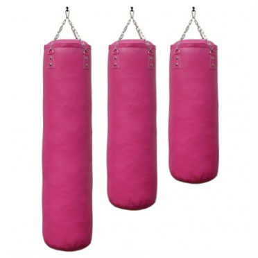 Sportief boxing bag pink luxury 100 - 150 cm