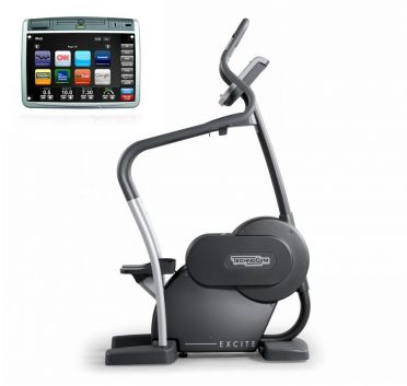 Technogym stepper Step Excite+ 700 Visioweb black used