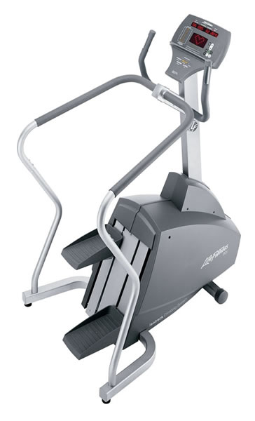 Life Fitness stepper 93S used