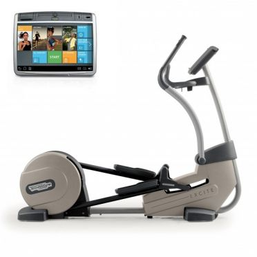 TechnoGym crosstrainer Excite+ Synchro 700 Unity silver used