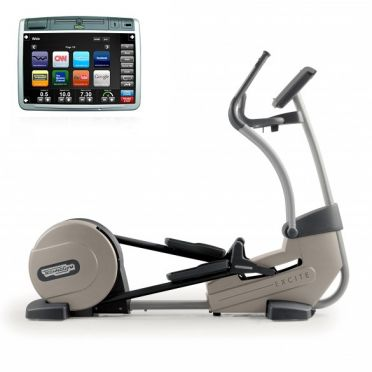 TechnoGym crosstrainer Synchro Excite+ 700 Visioweb silver used