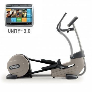 TechnoGym crosstrainer Excite+ Synchro 700 Unity 3.0 silver used