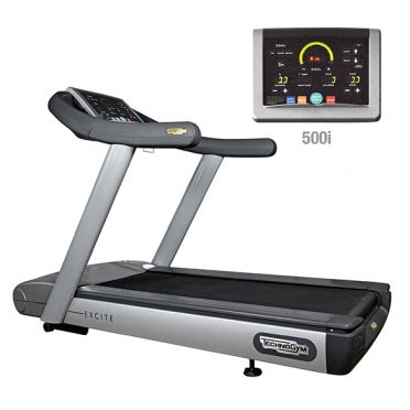 TechnoGym treadmill Run Excite 500i classic silver used