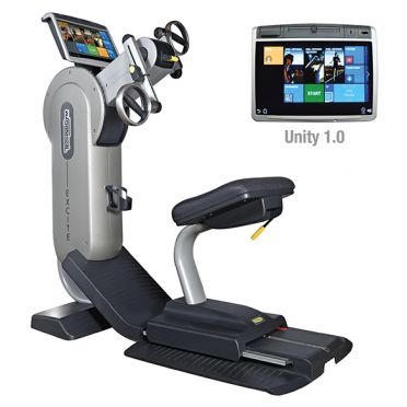 TechnoGym arm bike Excite+ Top 700 Unity silver used