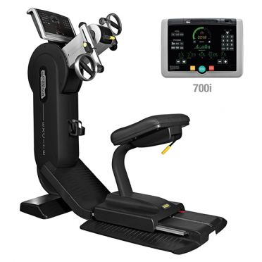 TechnoGym arm bike Top Excite+ 700i black used