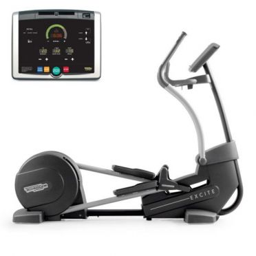 TechnoGym crosstrainer Synchro Excite+ 500i black used