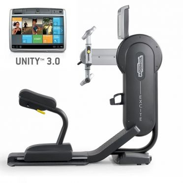 TechnoGym arm bike Excite+ Top 700 Unity 3.0 black used
