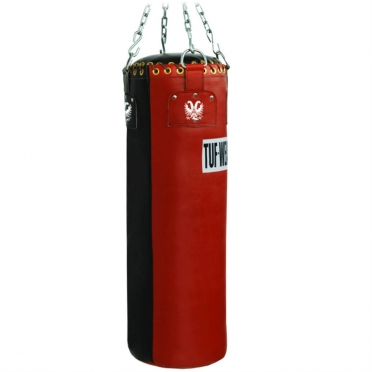 Tufwear boxing bag leather 90 cm/28 kg