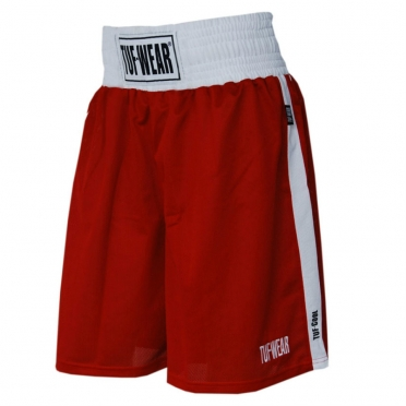 Tufwear (kick) boks short red