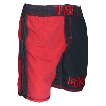 Tufwear MMA short black red