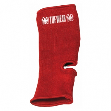 Tufwear ankle guard red
