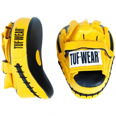 Tufwear handpad leather and PU curved