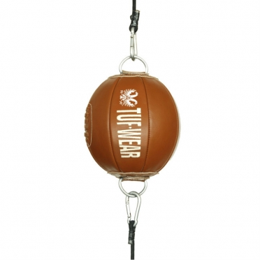 Tufwear reaction ball (double end ball) brown leather classic