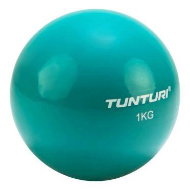 Tunturi Yoga toning ball 1 kg turquoise