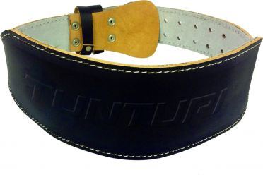 Tunturi Weightlifting Belt leather black