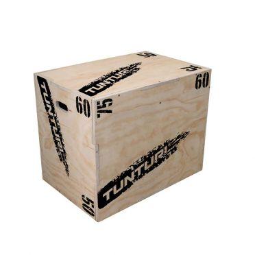 Tunturi Wooden Plyo Box 50-60-75 cm