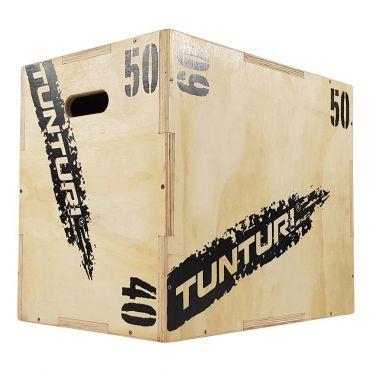 Tunturi Wooden Plyo Box 40-50-60 cm