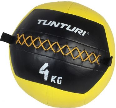 Tunturi Wall ball 4kg yellow