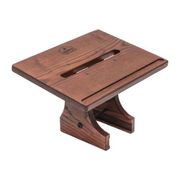 Waterrower Laptop holder club stained solid ash