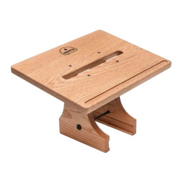Waterrower Laptop holder natural oak wood