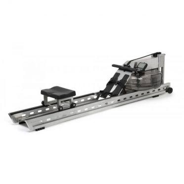 Waterrower Rowing machine S1 brushed stainless steel
