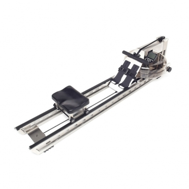 Waterrower Rowing machine S1 brushed stainless steel