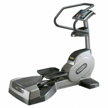 TechnoGym lateral trainer Wave Excite 700i.e classic silver with LCD TV used