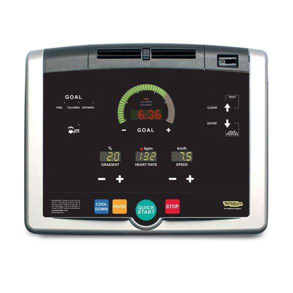 TechnoGym Treadmill Jog Now Excite+ 500i Silver Used