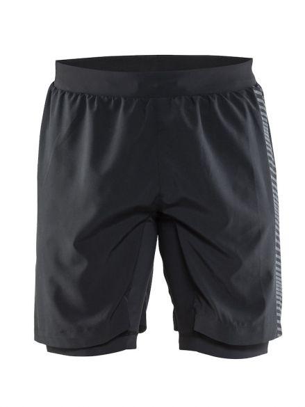 Craft Grit running shorts black men  1904797-9563