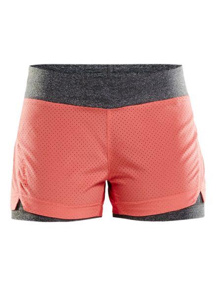 Craft Breakaway 2-in-1 running shorts Pink women  1904954-2702