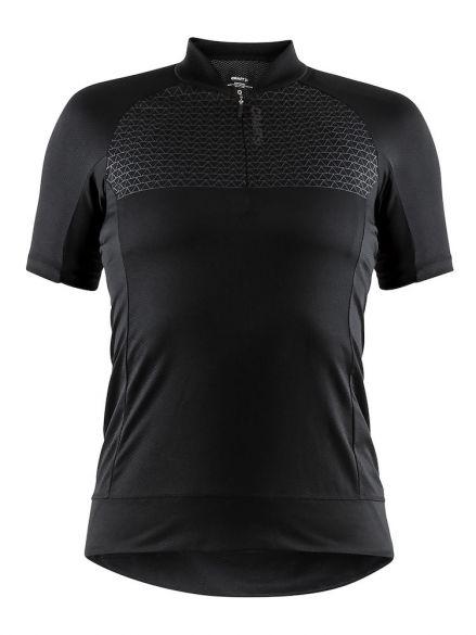 Craft Rise cycling jersey black women  1906075-999000