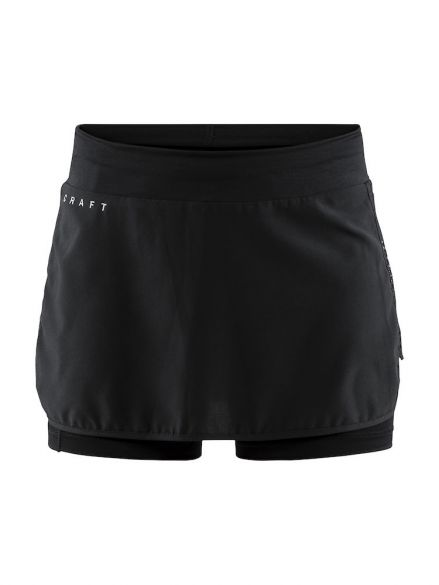 Craft Charge running skirt black women  1907045-999000-vrr