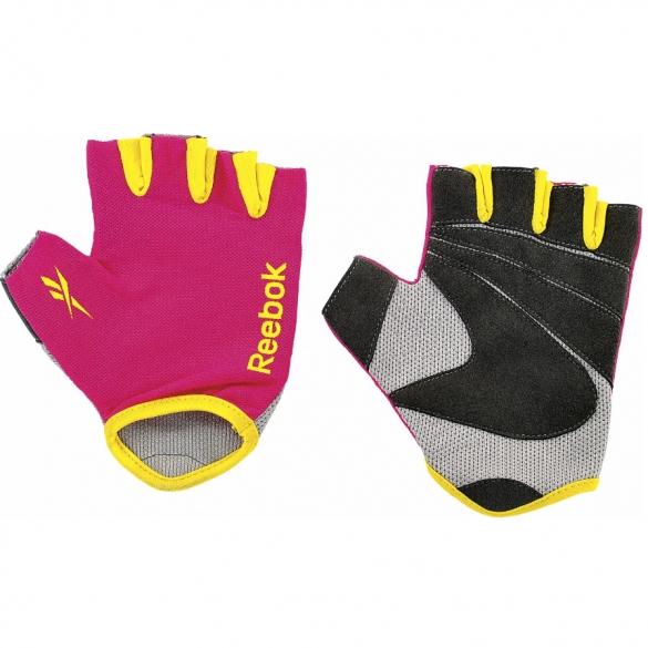 2e624e46254 Reebok color line fitness glove magenta size L online? Order Find it ...