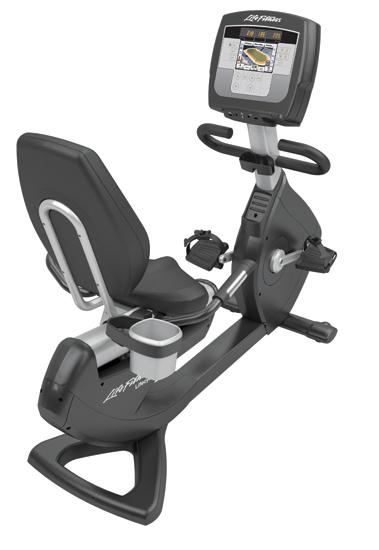 Life Fitness recumbent bike 95R Inspire used  BBLFRB95RIN