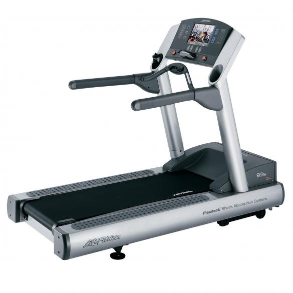 Life Fitness treadmill 95Te used  BBLFTR95TE
