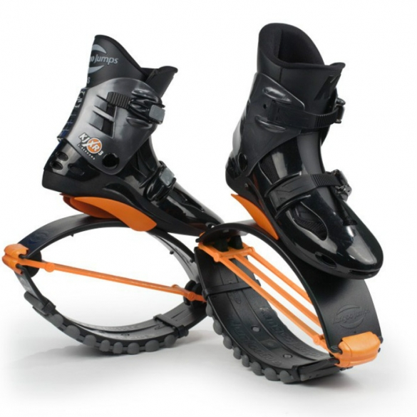 Kangoo Jumps XR3 black orange  KJXR3BLACKORANGE