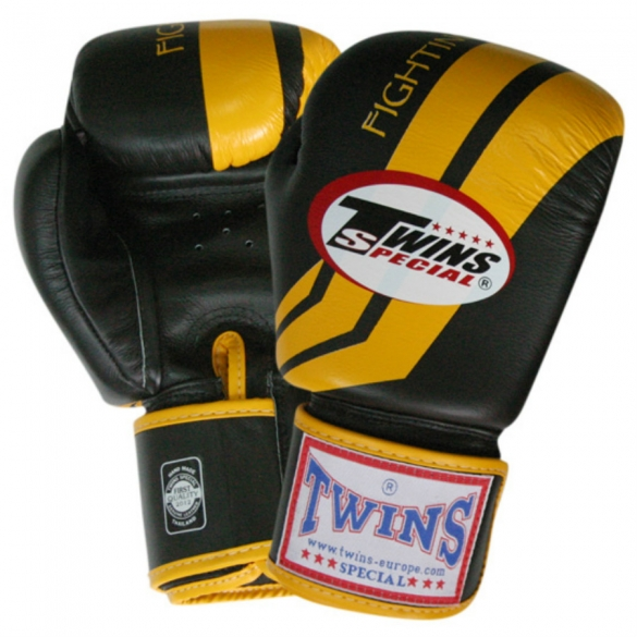 Twins Fantasy boxing gloves black thunderbolt  TWINSFANTASYZWTH