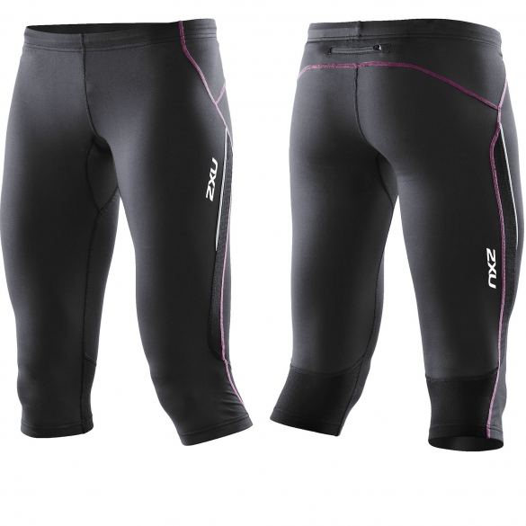 2XU Active 3/4 Tight black UV (WR2415b)  2XUWR2415BBLACKUV