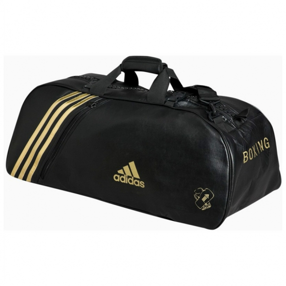 Adidas Super Sport Bag black/gold Medium  ADIBAG02M