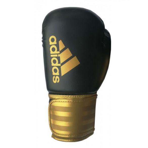 Adidas Hybrid 100 (kick)boxing gloves black/gold  ADIH100-90350VRR