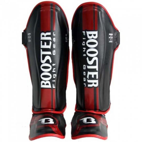 Booster BSG V3 Pro Range shinguards black/red  BSG1V3ZR