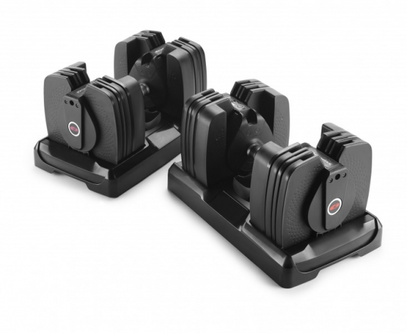 Bowflex Dumbbell Set Selecttech 560i Smart Weight Stand