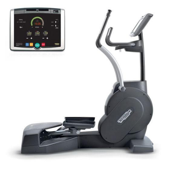 TechnoGym lateral trainer Crossover Excite+ 500i black used  BBTGCE500IZW