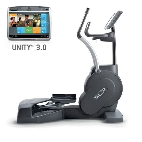 TechnoGym lateral trainer Excite+ Crossover 700 Unity 3.0 black used  BBTGEC7003UZW