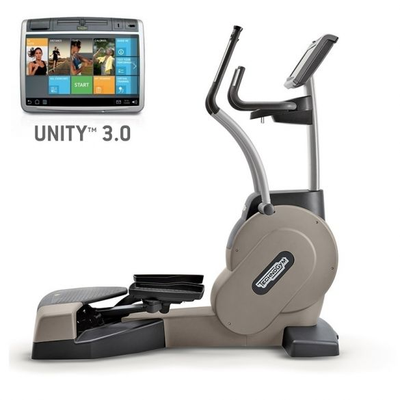 TechnoGym lateral trainer Excite+ Crossover 700 Unity 3.0 silver used  BBTGEC7003UZI