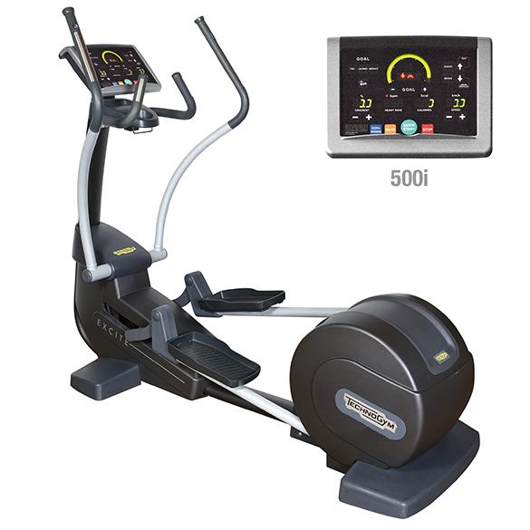 TechnoGym crosstrainer Synchro Excite+ 500i black used  BBTGSE500IZW
